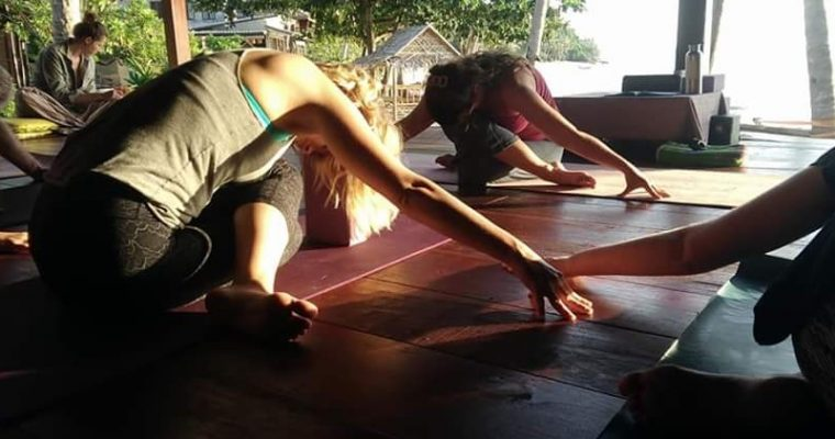 The second week – the path of yoga