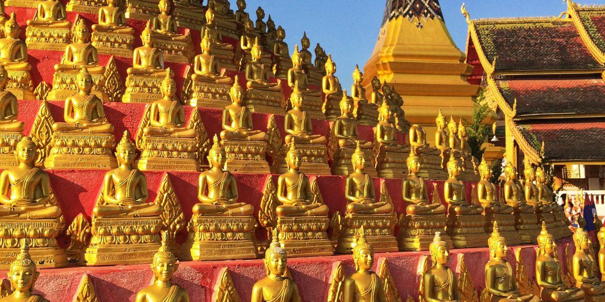 Buddhas in Huay Xai Laos - pinterjuco.hu