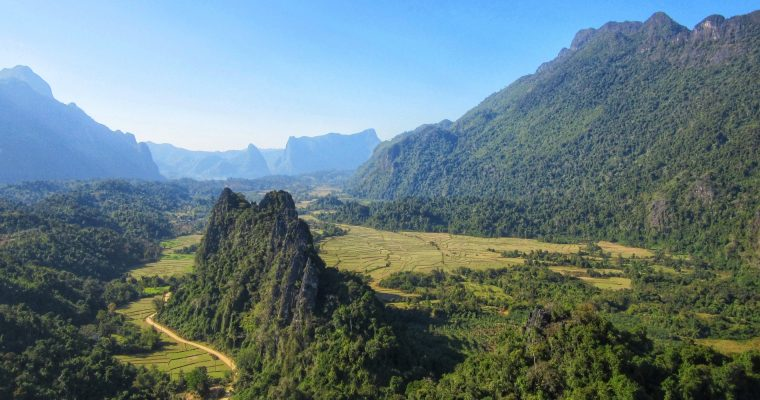 The controversial Vang Vieng