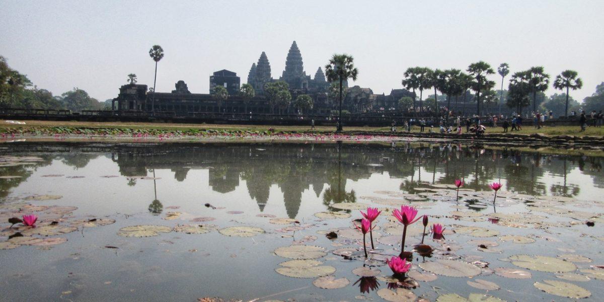 Angkor Wat with lotus - pinterjuco.hu