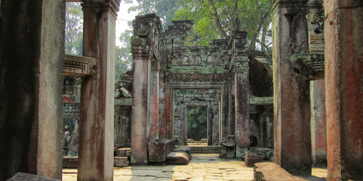 Gates in Preah Khan - pinterjuco.hu