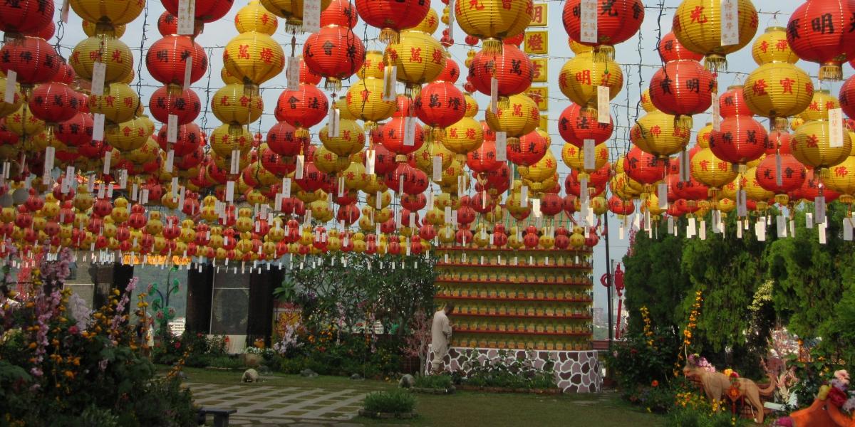 Penang Kek Lok Si temple
