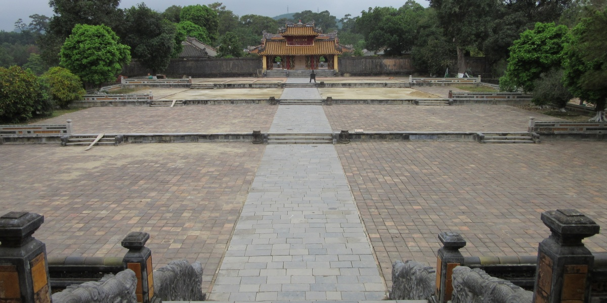 Minh Mang courtyard