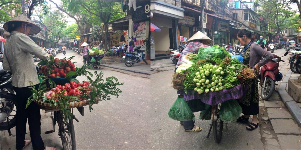 Hanoi, street vendors - pinterjuco.hu