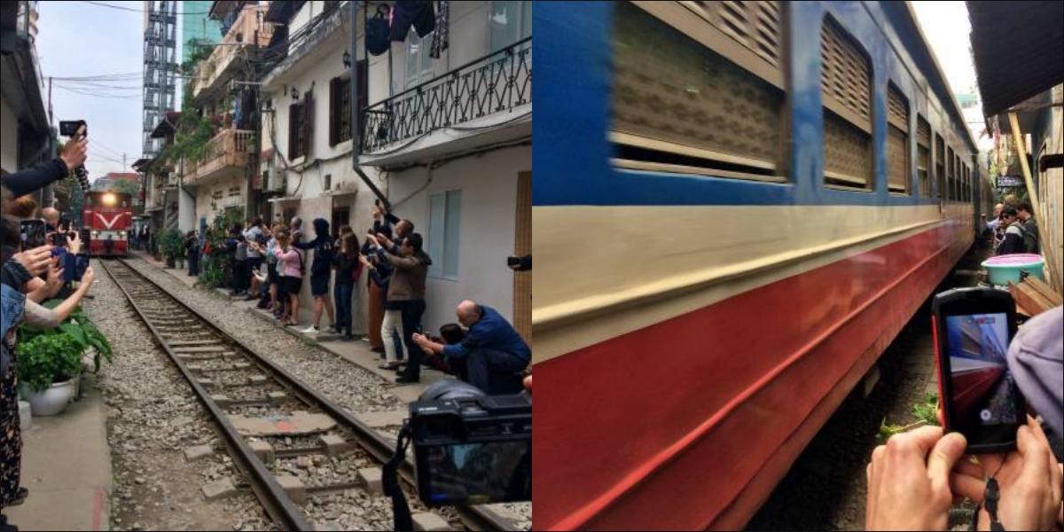 Hanoi, train street - pinterjuco.hu
