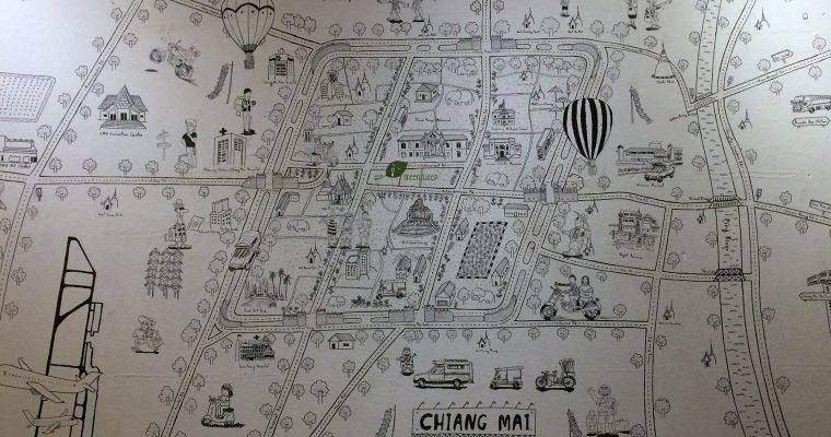 Chiang Mai templomrengetege