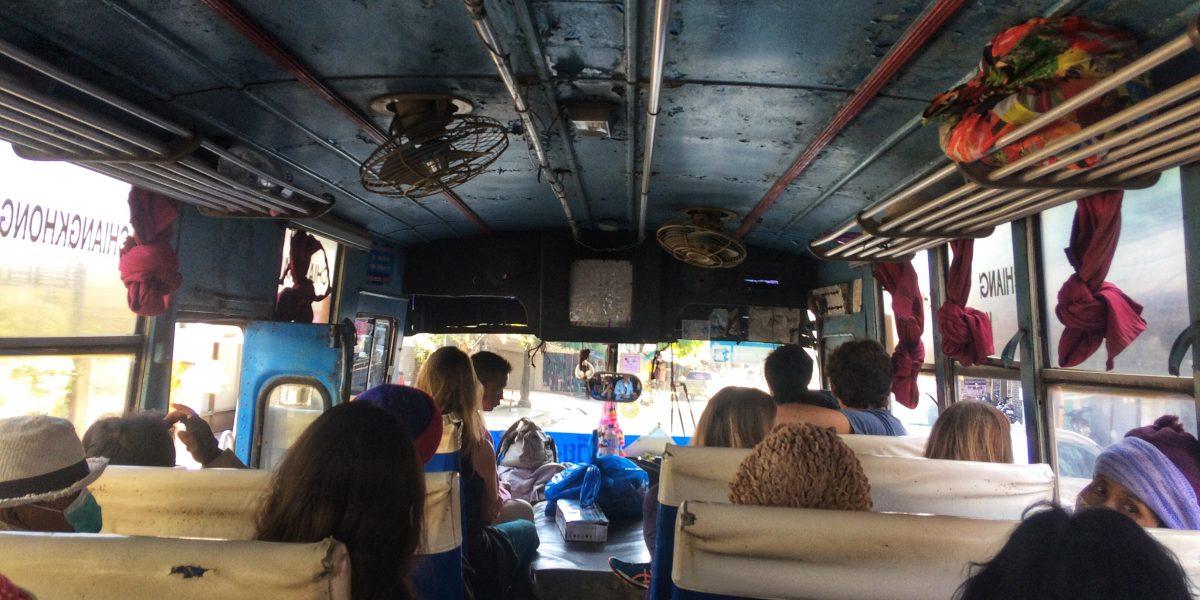 Spontaneous bordercrossing to Laos
