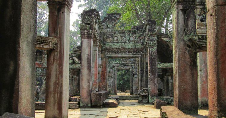 Bringával Angkorban