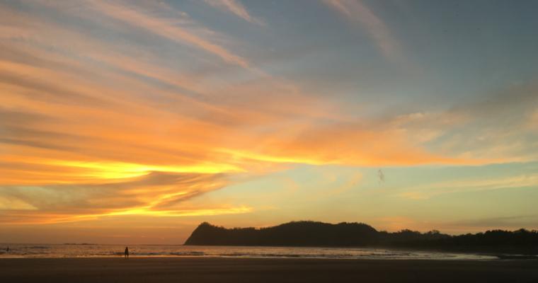 Sámara, találkozás a csendes-óceáni parttal
